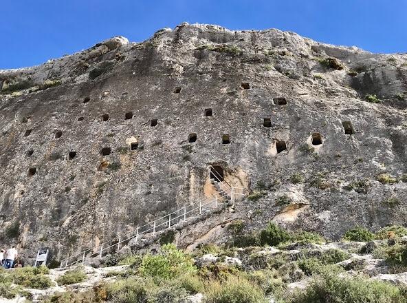 De grotten van de moren